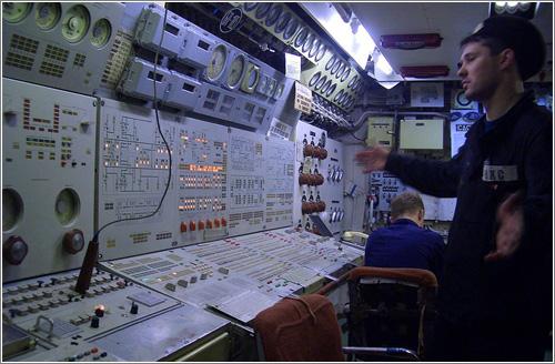 el submarino Typhoon / English Russia