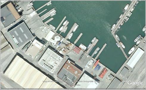 Valencia en Google Earth