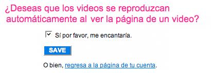 Videos en Flickr