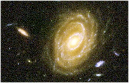 Vistazo al Universo profundo