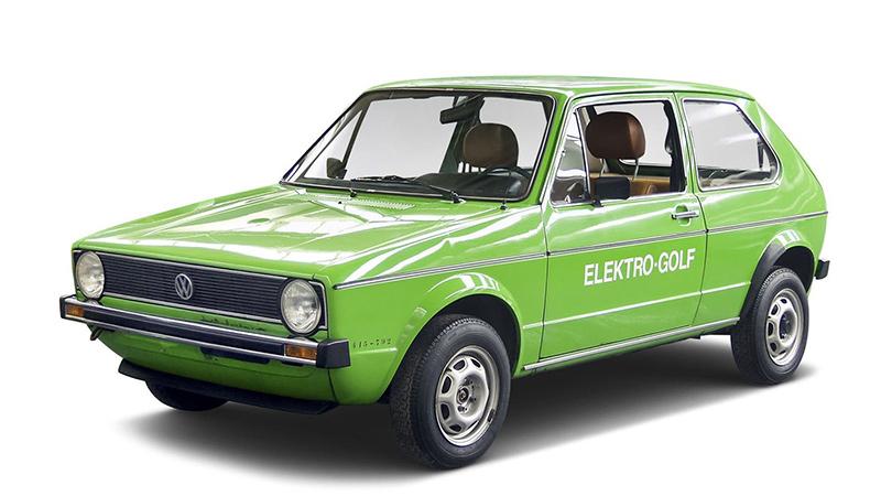 Volkswagen elektro golf 1976