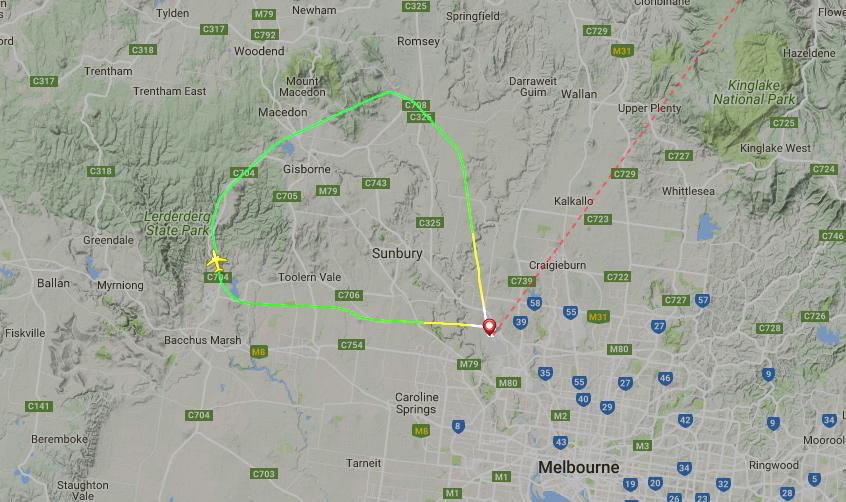 Vuelo virgin australia 737 800