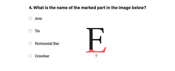 Web typography quiz