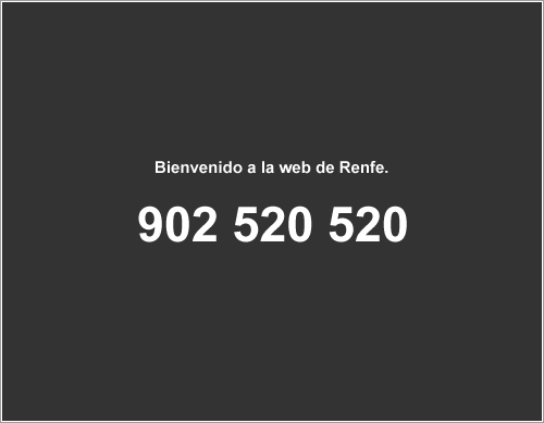 Nueva web de Renfe por Keko Ponte