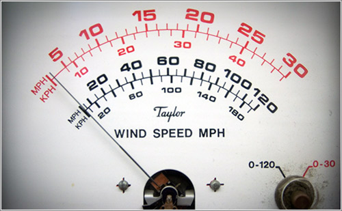 Taylor Wind Speed Dial (CC) Steve Depolo @ Flickr