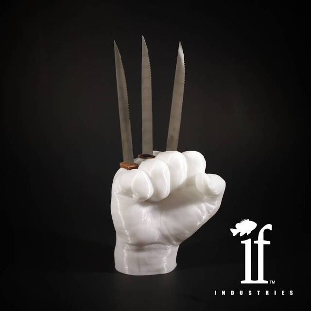 Wolverine steak knife holder