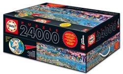 El rompecabezas más grande del mundo: 24.000 piezas
