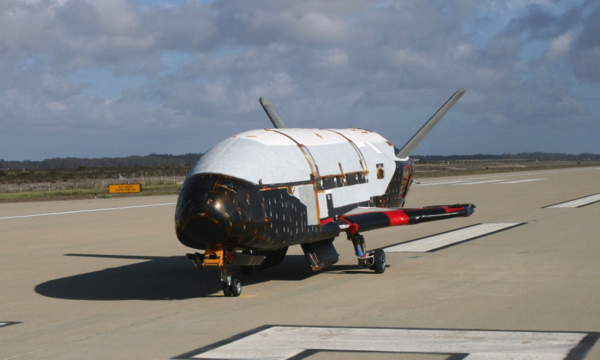 El X–37B después de su cuarta misión – USAF