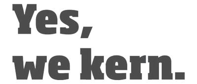 Yes, we kern