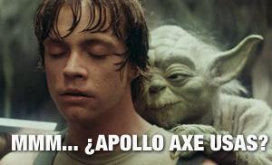 Yoda Luke muy a gustito