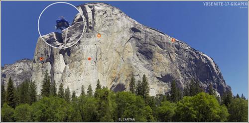 Yosemite a 17 Gigapixeles