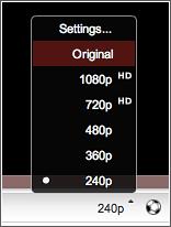 YouTube en 4K
