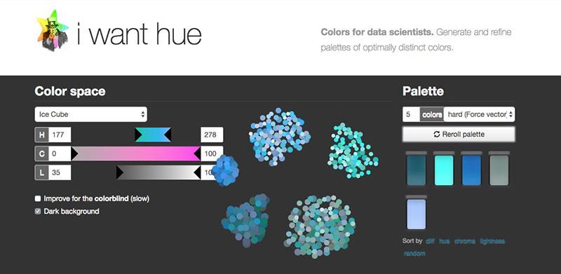 Paletas de color a medida