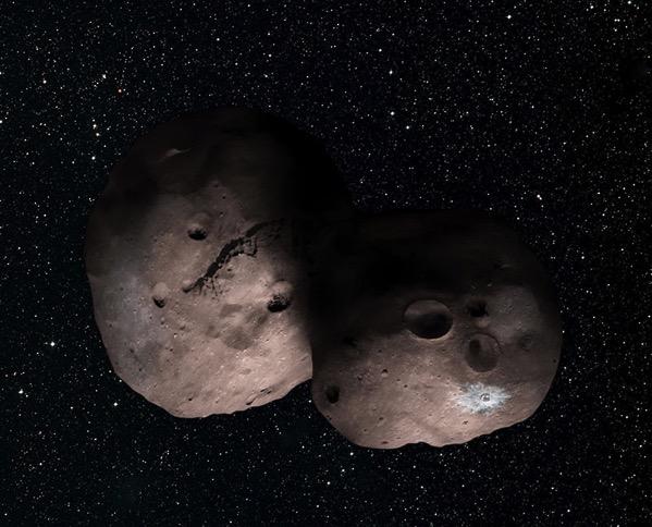 Pinta que podría tener 2014 MU69