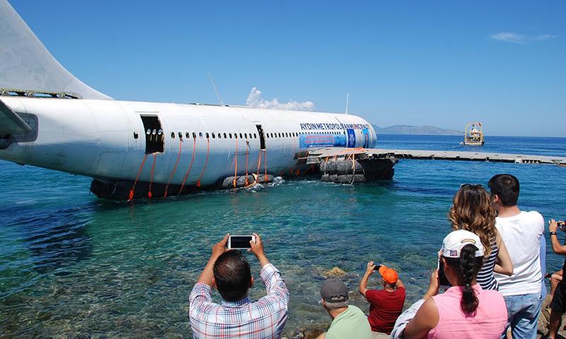 El A300 en su último viaje
