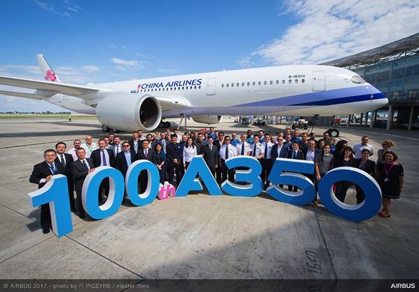 A350 número 100