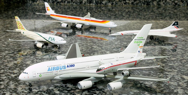 A380 y A319