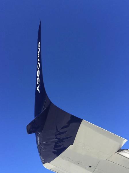 Winglet del A380Plus