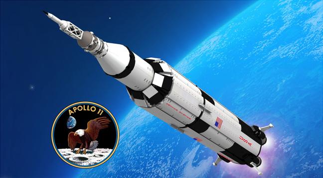 Apolo 11 en Lego