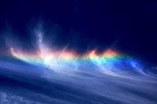 Arcoíris de fuego por Jeff Kubina