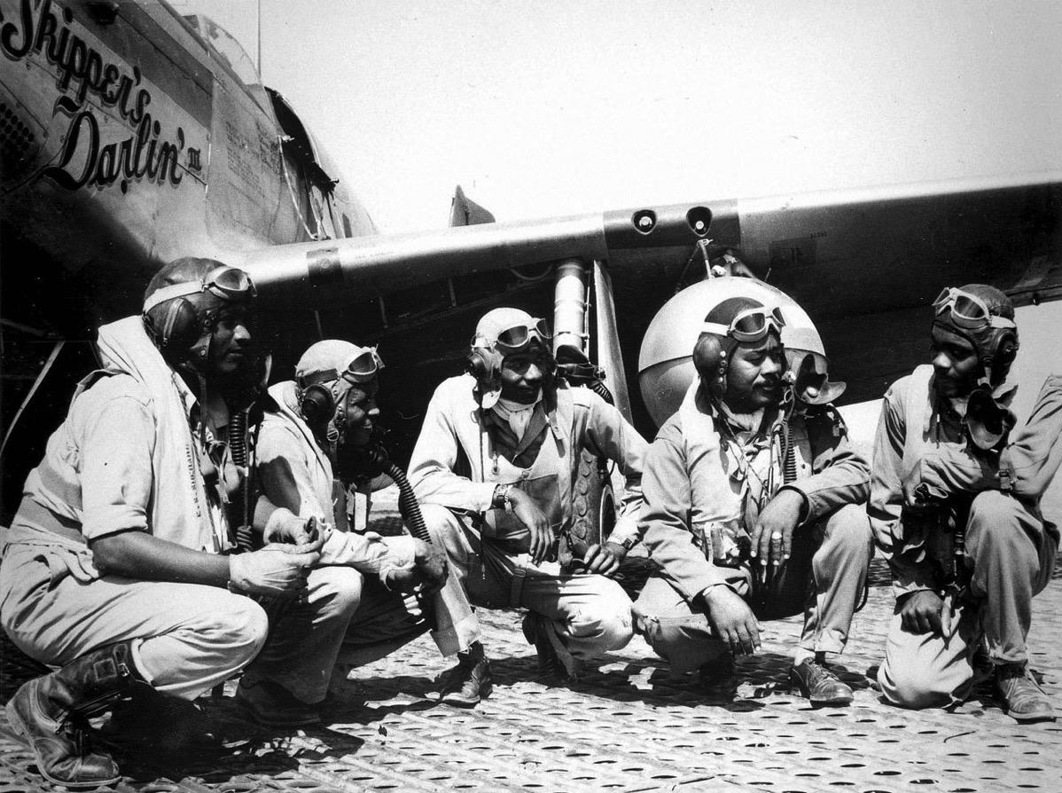 Aviadores de Tuskegee en Ramitelli