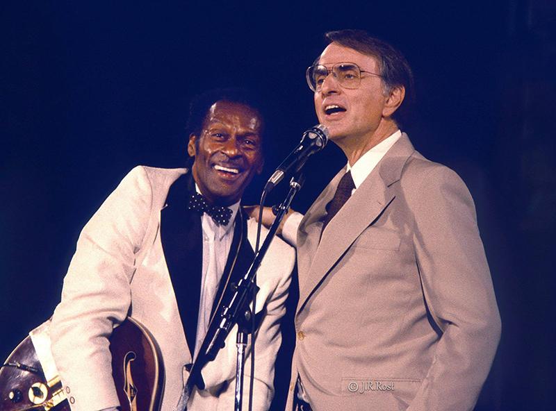 Chuck Berry y Carl Sagan