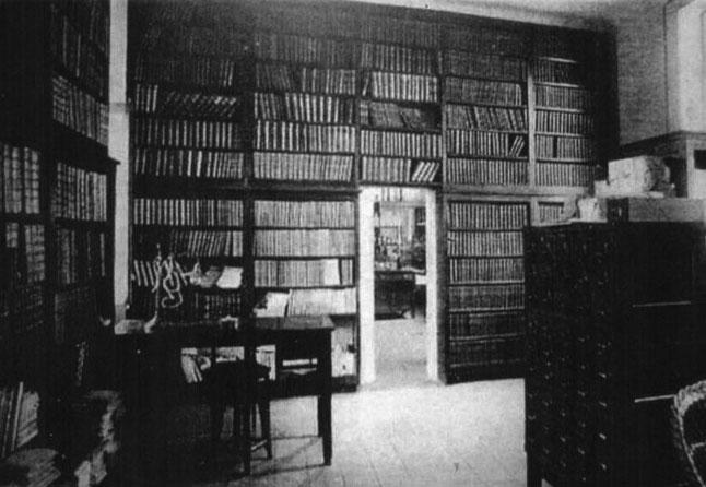 Biblioteca y laboratorio de fisiologia de la Junta para Ampliación de Estudios