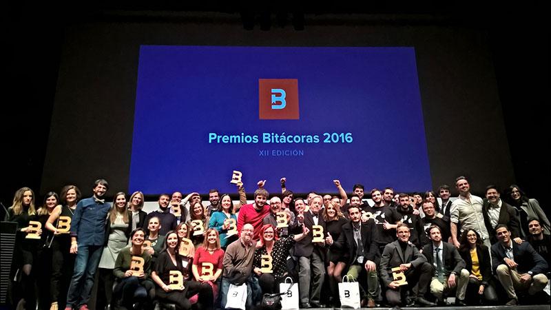 Ganadores de los Bitácoras 2016