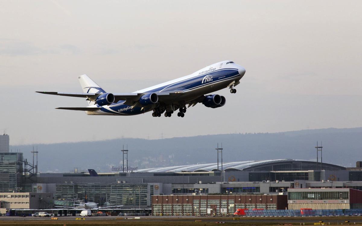 747F de AirBirdge Cargo en Frankfurt