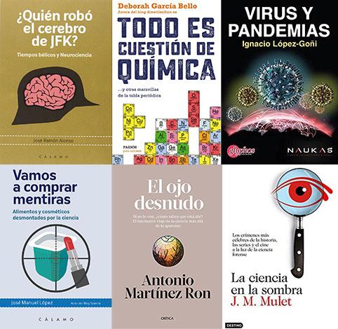 Portadas de los libros