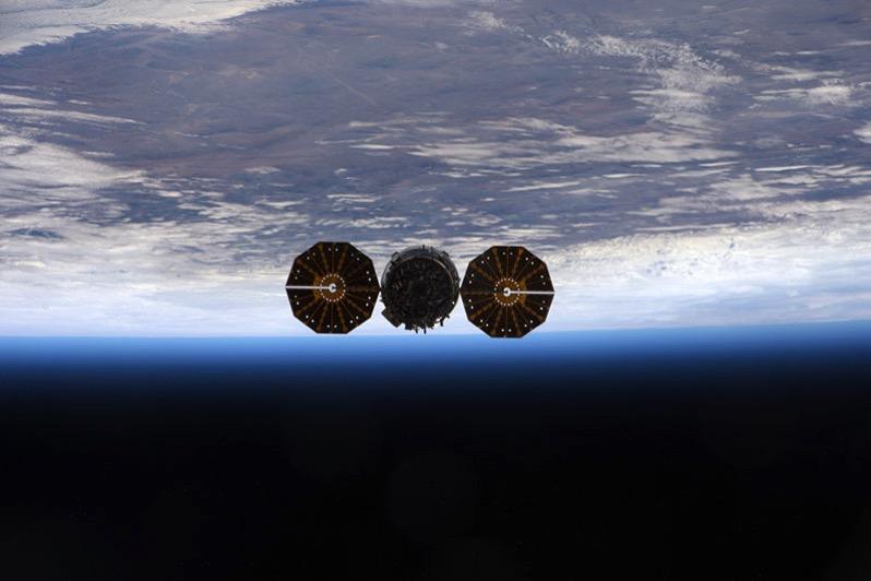 La Cygnus 6 a punto de ser liberada