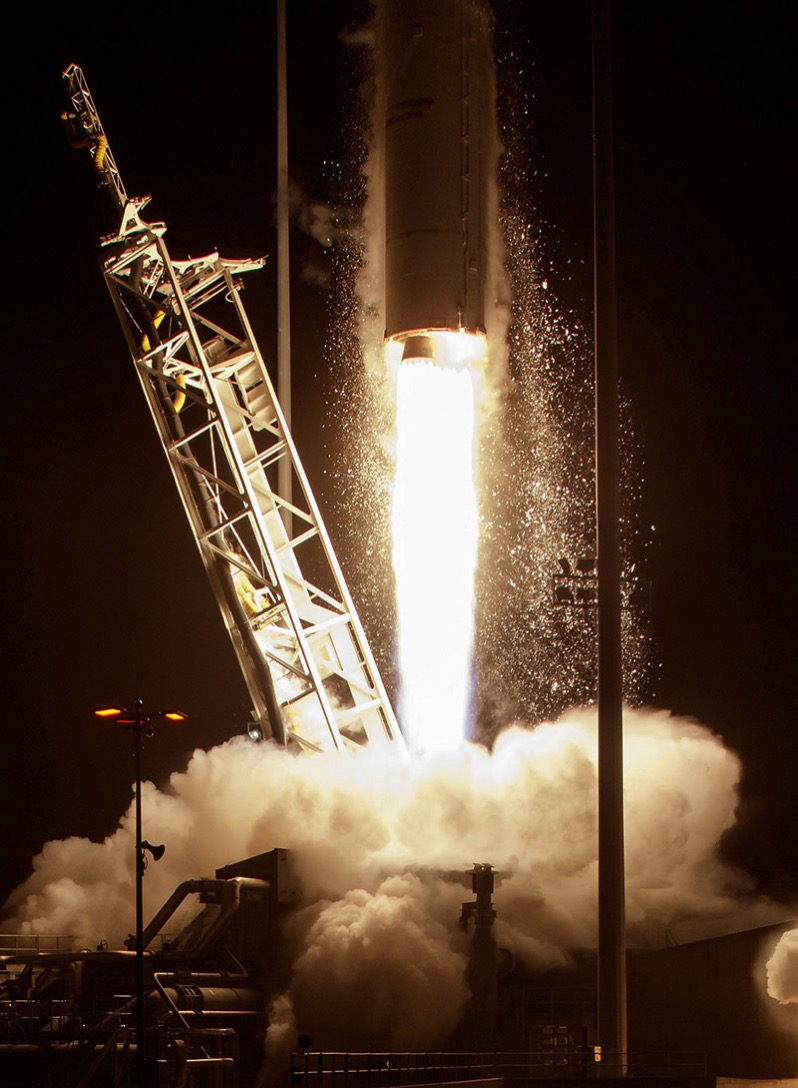 Lanzamiento de la Cygnus OA–6