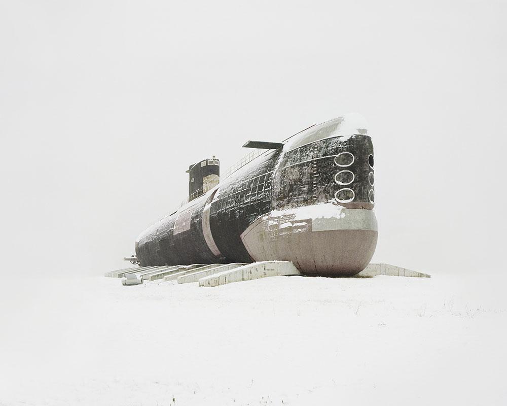 Submarino diesel abandonado