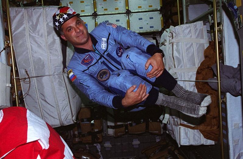 David Wolf, primer estadounidense en votar desde el espacio