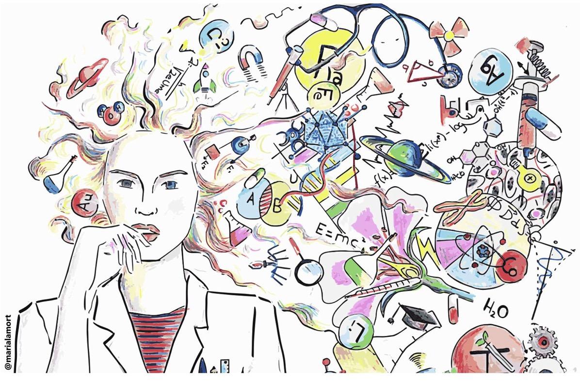 Portada de Día de la mujer y la niña en la ciencia