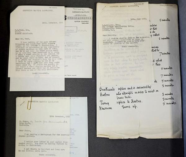 Algunos de los documentos encontrados