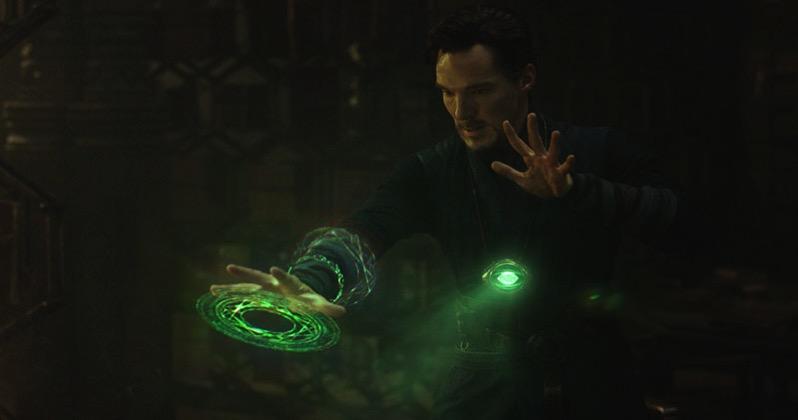 Dr. Strange haciendo de las suyas