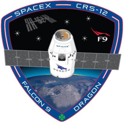 Parche de la misión Dragon SpX-12