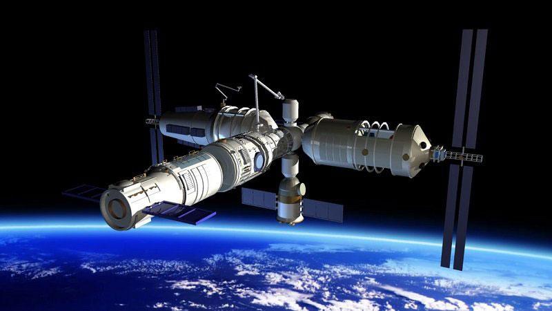 La futura Estación Espacial China