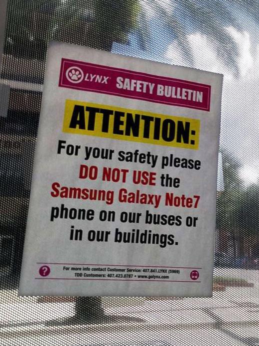 ¡Cuidadín con el Galaxy Note 7!