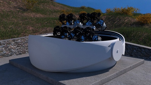 Goto con 8 telescopios