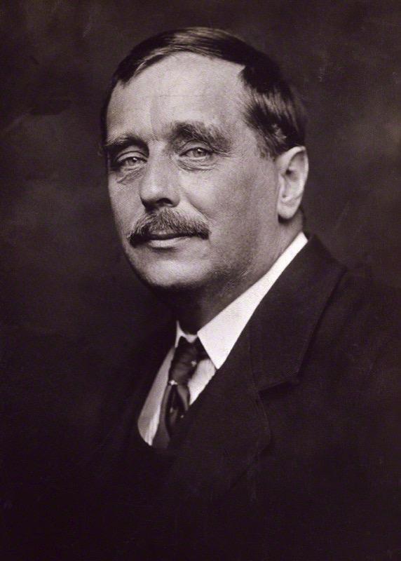 H. G. Wells en 1920