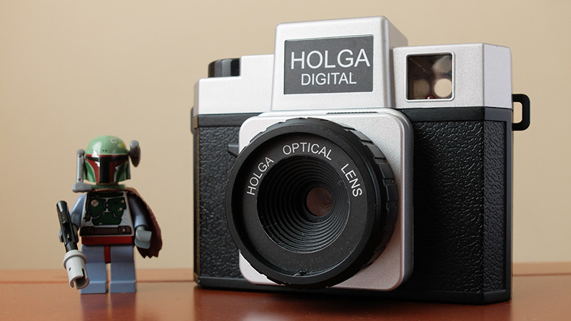 La Holga Digital y Boba Fett