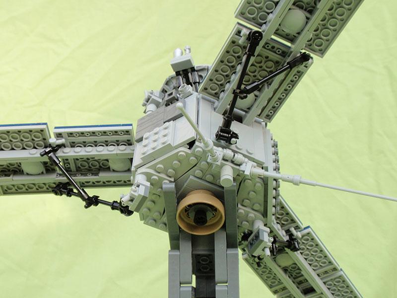 Detalle de la Juno de Lego