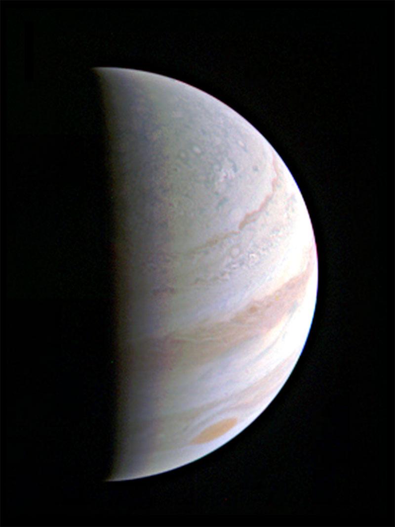 Júpiter desde 703000 kilómetros de distancia