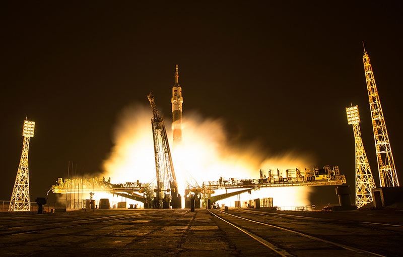 Lanzamiento de la Soyuz MS-03