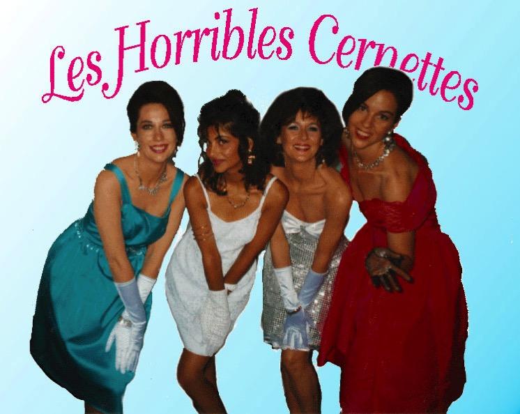 Les Horribles Cernettes en 1992