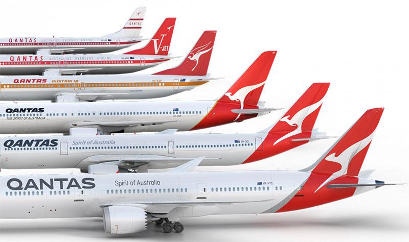 Libreas de Qantas