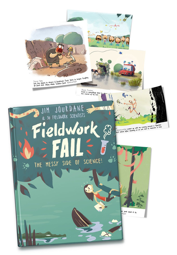 Fieldwork Fail, el libro