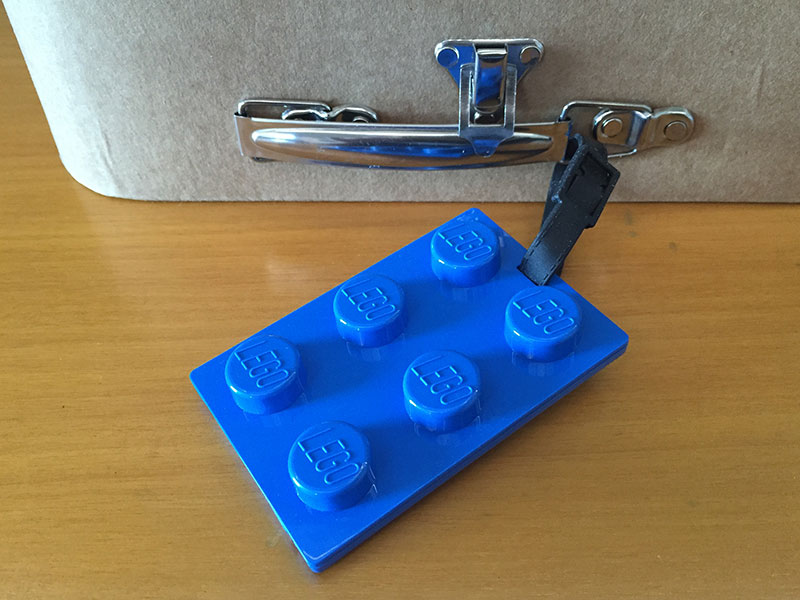 Etiqueta de equipaje Lego City